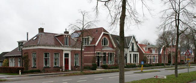 zeven huisjes