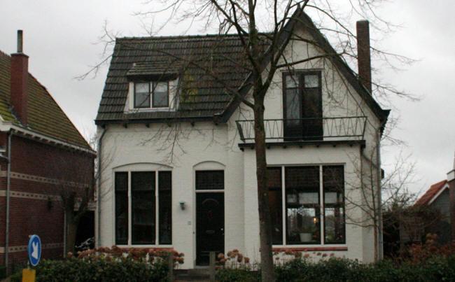 een wit huisje...