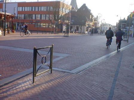 einde fietspad