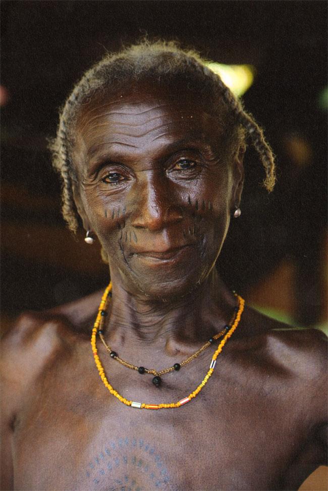 de traditionele tatouages worden zeldzamer