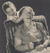zelfs oma doet mee...