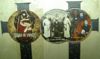 rechts de cd, links het boekje