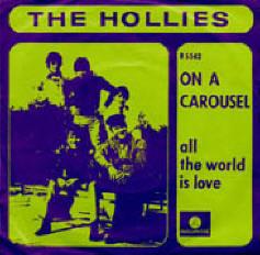 het nederlandse hoesje van de single on a carousel - geen carousel te zien...