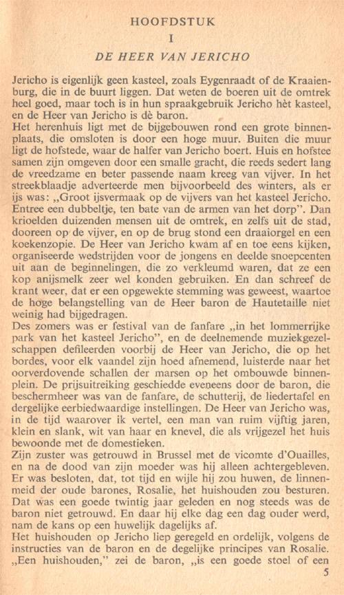 de eerste bladzijde