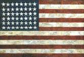 hij is ook wel eens wat wilder met de amerikaanse vlag omgesprongen...