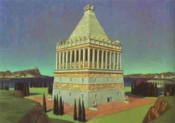 het mausoleum van halicarnassos