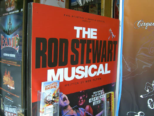 rod stewart- the musical