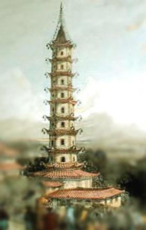 porceleinen toren van nanking