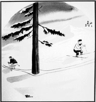 chas addams' bekendste cartoon