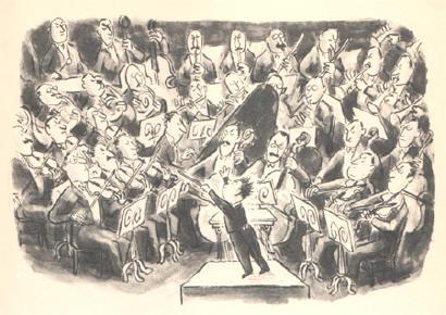 dirigeren zonder partituur