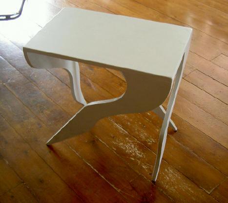 het rare-poten tafeltje