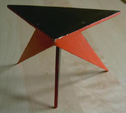 driehoekige tafel