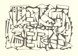 zesde tekening