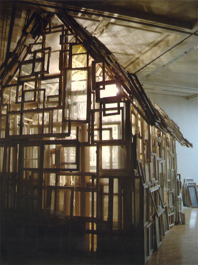 shiota's house of windows...