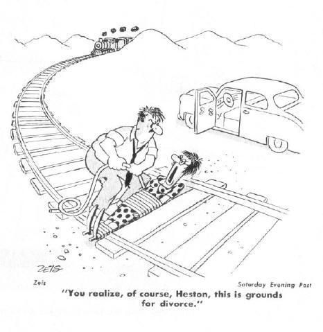 """""""je realiseert je zeker wel dat dit grond is voor een echtscheiding..."""""""