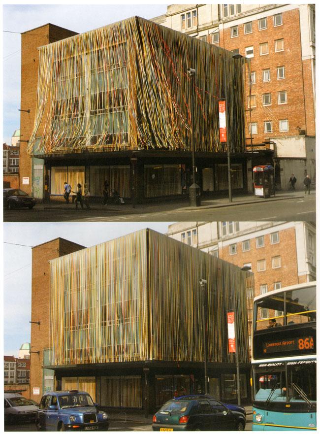 versierd gebouw...