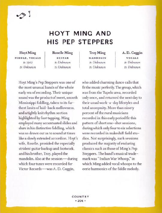 tekst over hoyt ming