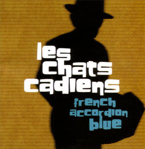 french accordeon blue