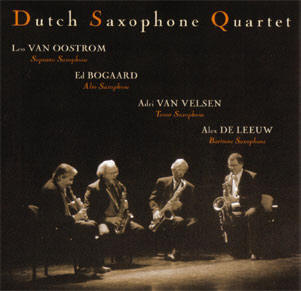 dutch saxophone quartet...