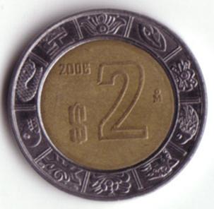 een mexicaanse munt
