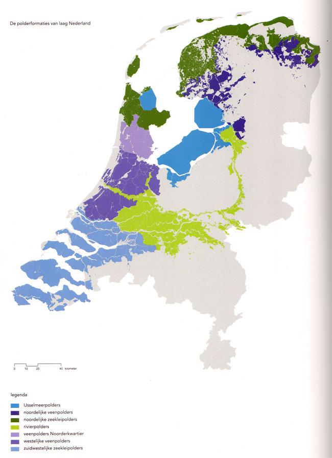 de polderformaties van nederland