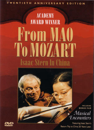 isaac stern in china...
