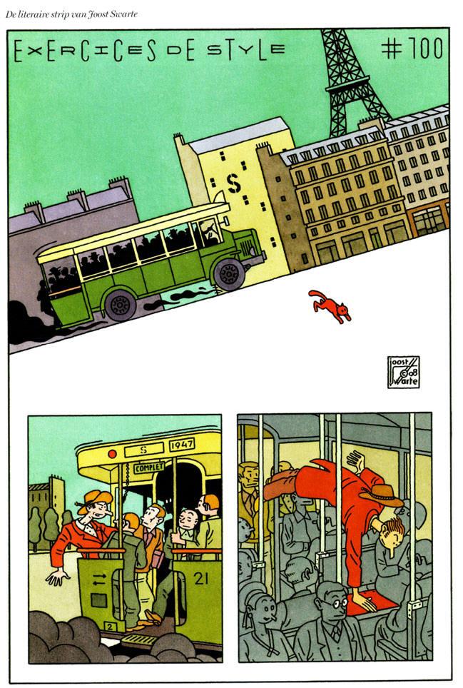 een volle bus in parijs...
