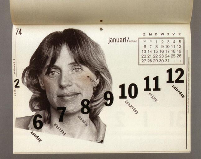 kalenderblad van jan van toorn...