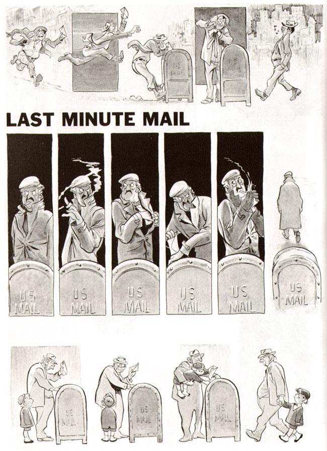 drie manieren om een brief te posten...