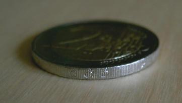nederlandse twee-euromunt...