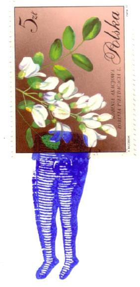 elke envelop heeft zijn eigen postzegel...