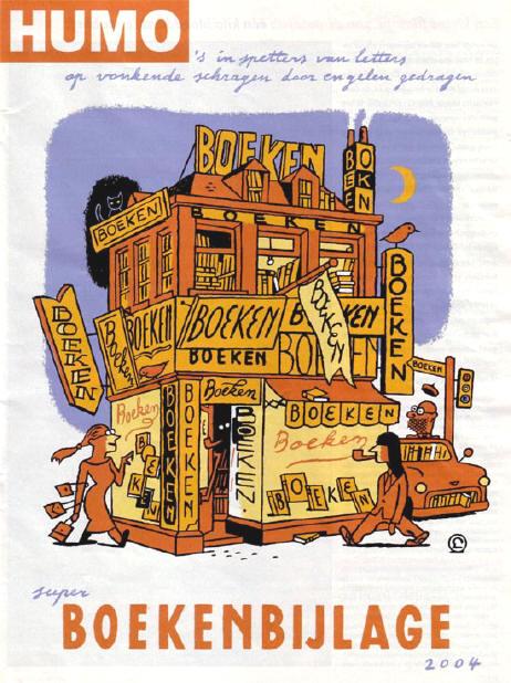 humo's boekenbijlage...
