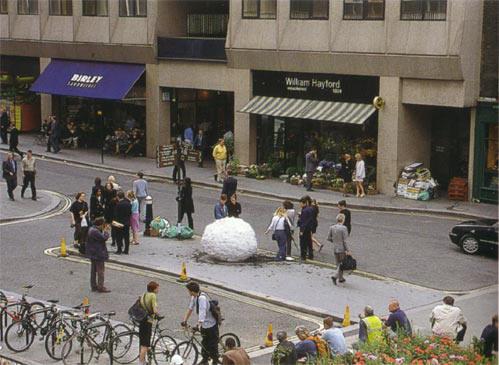 sneeuwbal in de stad