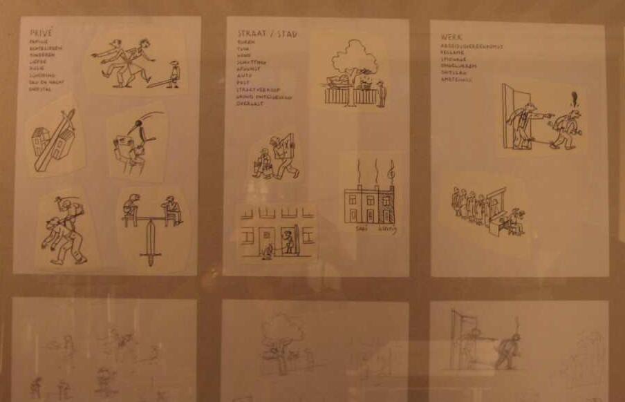 stukje van de bijbehorende tentoonstelling...