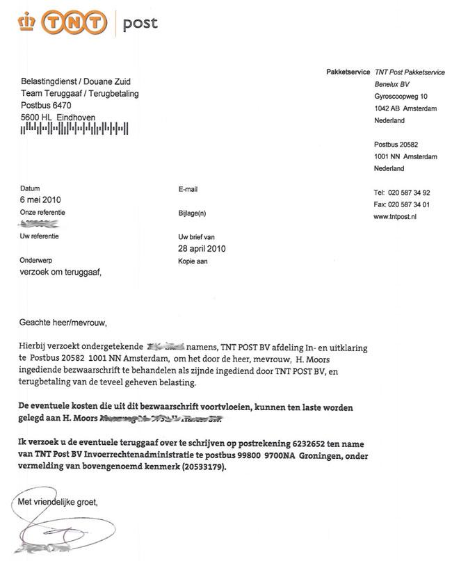 brief schrijven belastingdienst Brief Schrijven Belastingdienst | hetmakershuis