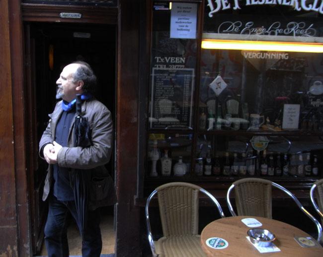 een amsterdams café...