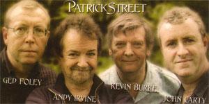 de band patrick street...
