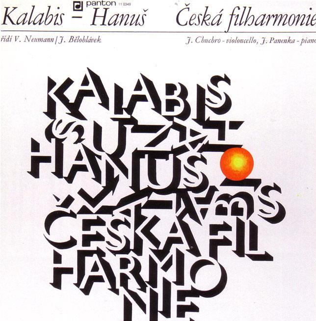 een typografische hoes...