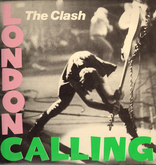 london calling, zelf later ook weer geparodieerd...