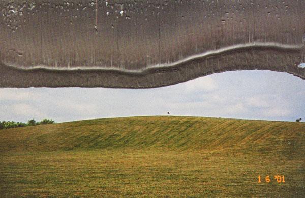 overschilderd landschap...