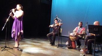 zangeres, morad khoury, osama mileegi en haytham safia