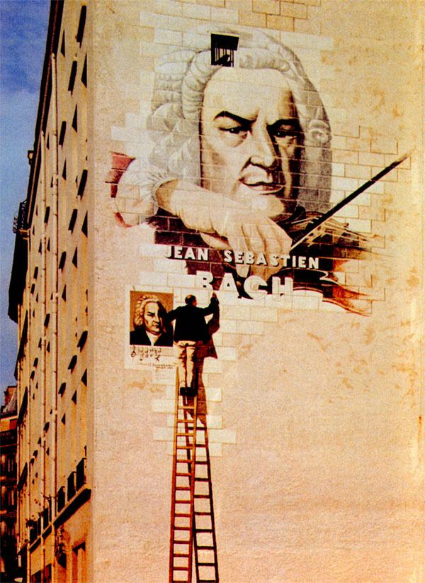 een beschilderde muur...