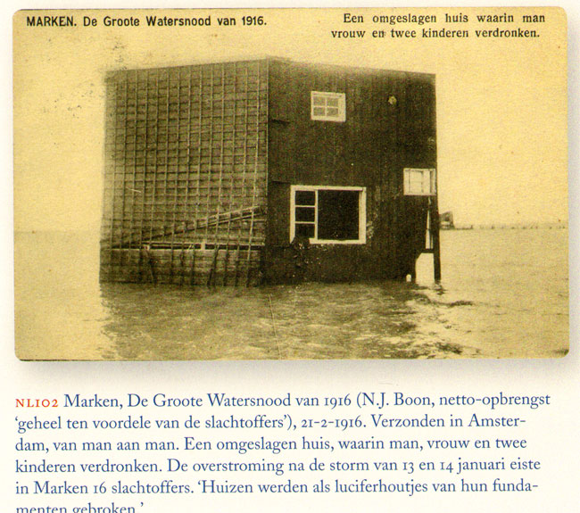 watersnood in marken 1916