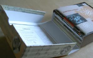 het doosje gaat open...