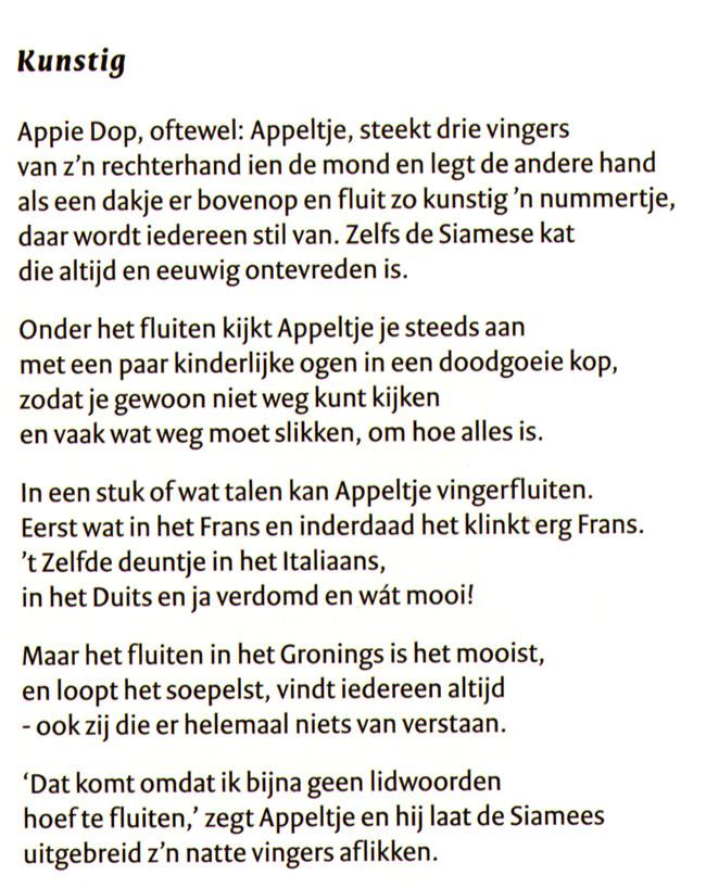 de vertaling van het gedicht...