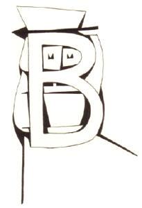letter B...