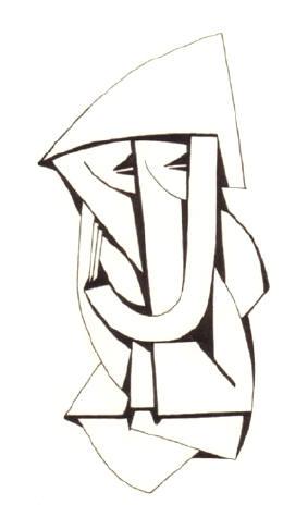 de letter j