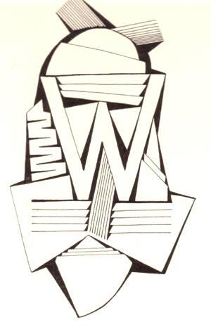 de letter W...