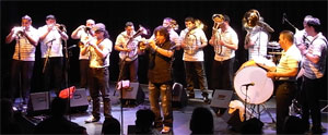 het orkestar...