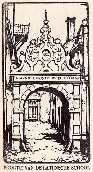 poortje van de latijnse school